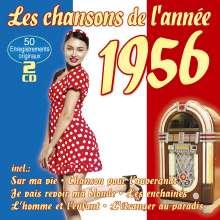 Les Chansons De L'Annee 1956, 2 CDs
