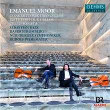 Emanuel Moor (1863-1931): Konzert für 2 Celli & Orchester op.69, CD