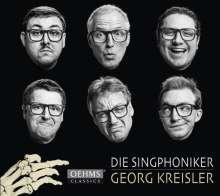 Die Singphoniker - Georg Kreisler, CD