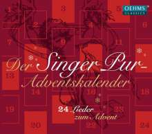 Singer Pur  - Adventskalender (24 Lieder zum Advent), CD