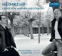 Roman Trekel - Heimkehr (Lieder von Wagner und Strauss), CD