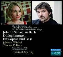 Johann Sebastian Bach (1685-1750): Kantaten BWV 32,57,58, CD