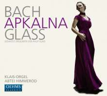Iveta Apkalna - Bach & Glass, 2 CDs