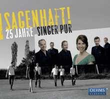 Singer Pur - Sagenhaft! 25 Jahre Singer Pur, CD