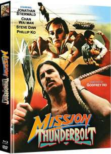 Mission Thunderbolt (Blu-ray & DVD im Mediabook), 1 Blu-ray Disc und 1 DVD