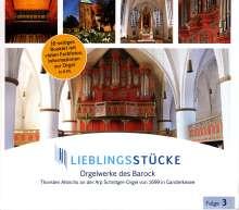Lieblingsstücke Folge 3 - Orgelwerke des Barock, CD