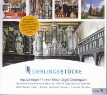Lieblingsstücke Folge 8 - Arp Schnitger/Rowan West-Orgel Oederquart, CD