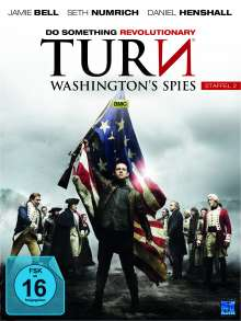 Turn - Washington's Spies Staffel 2, 4 DVDs