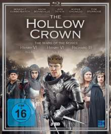 The Hollow Crown Season 2: The Wars of the Roses (Blu-ray), 3 Blu-ray Discs