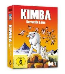 Kimba - Der weiße Löwe Vol. 1, 5 DVDs