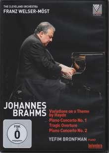Johannes Brahms (1833-1897): Klavierkonzerte Nr.1 & 2, DVD