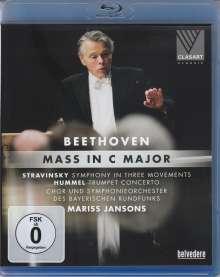 Ludwig van Beethoven (1770-1827): Messe C-dur op.86, Blu-ray Disc