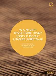 "Wolfgang Amadeus Mozart (1756-1791): Messe KV 427 c-moll ""Große Messe"", DVD"