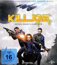 Killjoys - Space Bounty Hunters Staffel 1 (Blu-ray), 2 Blu-ray Discs
