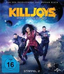 Killjoys - Space Bounty Hunters Staffel 2 (Blu-ray), 2 Blu-ray Discs