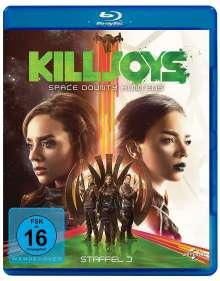 Killjoys - Space Bounty Hunters Staffel 3 (Blu-ray), 2 Blu-ray Discs