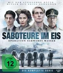 Saboteure im Eis - Operation Schweres Wasser (Blu-ray), 2 Blu-ray Discs