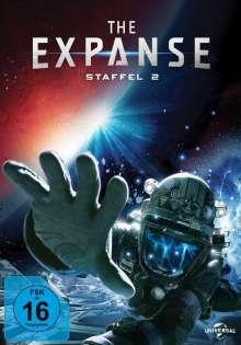 The Expanse Staffel 2, 4 DVDs