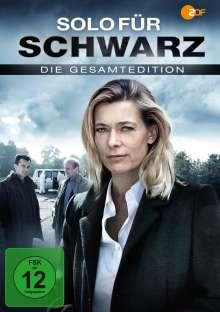 Solo für Schwarz  (Gesamtausgabe), 4 DVDs