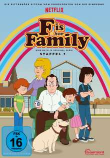 F is for Family Staffel 1, DVD