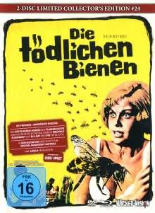 Die tödlichen Bienen (Blu-ray & DVD im Mediabook), 1 Blu-ray Disc und 1 DVD