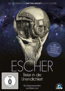 M. C. Escher - Reise in die Unendlichkeit (Special Edition im Digipak), DVD