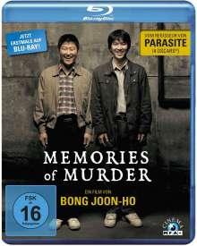 Memories of Murder (Blu-ray), Blu-ray Disc