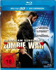 Abraham Lincoln's Zombie War (Blu-ray), Blu-ray Disc