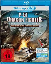P-51 - Dragon Fighter (3D Blu-ray), Blu-ray Disc