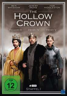 The Hollow Crown Season 1, 4 DVDs