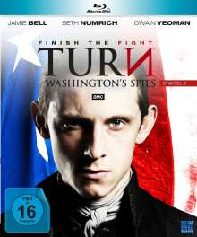 Turn - Washington's Spies Staffel 4 (finale Staffel) (Blu-ray), 4 Blu-ray Discs