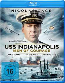 USS Indianapolis - Men of Courage (Blu-ray), Blu-ray Disc