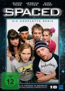 Spaced (Komplette Serie) (OmU), 2 DVDs