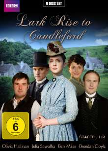 Lark Rise to Candleford Staffel 1 & 2, 9 DVDs