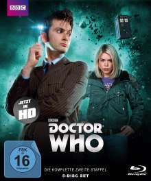 Doctor Who Staffel 2 (Limited Edition) (Blu-ray), 5 Blu-ray Discs