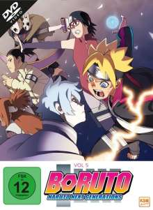 Boruto - Naruto Next Generations: Vol. 5, 3 DVDs
