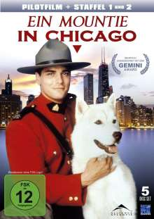 Ein Mountie in Chicago Staffel 1 & 2 inkl. Pilotfilm, 5 DVDs