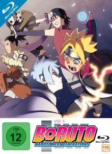 Boruto - Naruto Next Generations: Vol. 5 (Blu-ray), 3 Blu-ray Discs