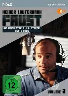 Faust Vol. 2 (Staffel 3 & 4), 4 DVDs