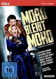 Mord bleibt Mord (Erpressung), DVD
