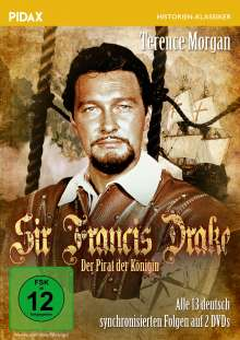 Sir Francis Drake - Der Pirat der Königin, 2 DVDs