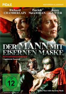 Der Mann mit der eisernen Maske (1977), DVD