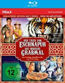 Der Tiger von Eschnapur / Das indische Grabmal (Blu-ray), 2 Blu-ray Discs