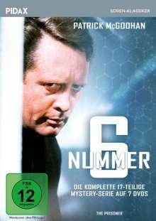 Nummer 6 (Komplette Serie), 2 DVDs