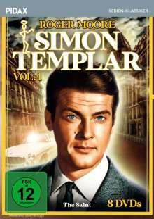 Simon Templar Vol. 1, 8 DVDs