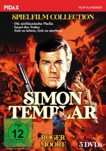 Simon Templar Spielfilm Collection, 3 DVDs