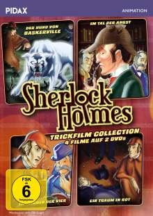 Sherlock Holmes Trickfilm Collection, 2 DVDs