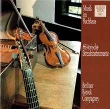 Musik im Bachhaus Vol.2 - Historische Streichinstrumente, CD