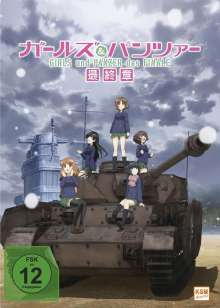 Girls & Panzer - Das Finale: Teil 1 (Limited Edition mit Sammelschuber), DVD