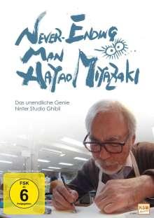 Never Ending Man: Hayao Miyazaki - Das unendliche Genie hinter Studio Ghibli, DVD